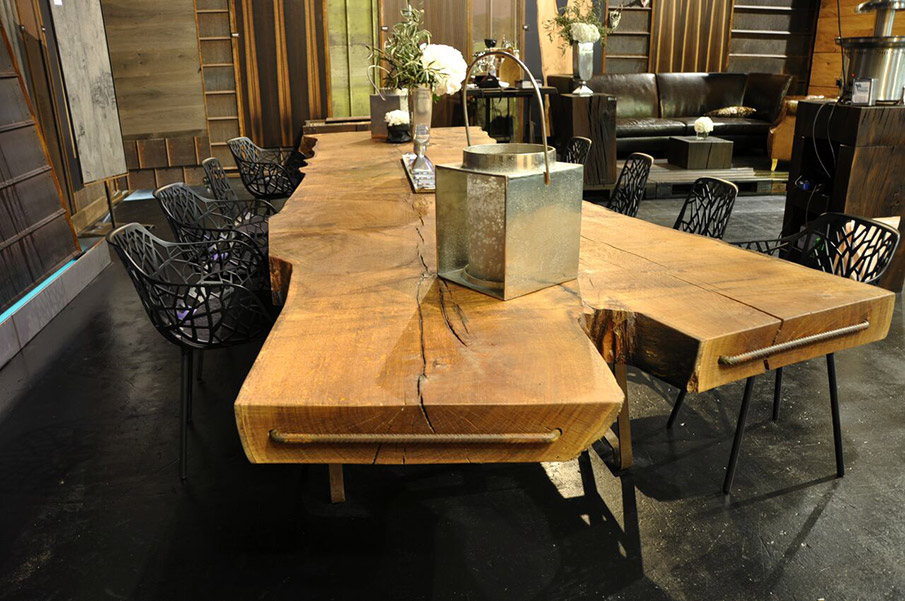 Massive wood tables mehling wiesmann for Ps tischdesign
